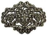 Gürtelschnalle Heart of Bavaria 4,0 cm - Silber