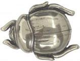 Gürtelschnalle Skarabäus 4,0 cm - Silber