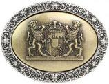 Gürtelschnalle Wappen Bayern 4,0 cm
