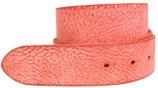 Wechselgürtel aus weichem Gump-Vollrindleder ohne Schließe 4,0 cm - Rot