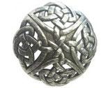 Gürtelschnalle Keltischer Knoten 4,0 cm - Silber