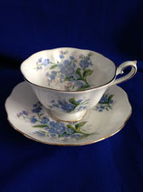 "Theekop & schotel Royal Albert ""Forget-me-not"""