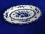 Blue Rose Fine China - ovale schaal