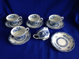 Blue Rose Fine China - kop & schotel