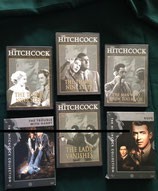 Vijf dvd's uit The Hitchcock Collection