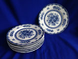 Blue Rose Fine China - ontbijtborden