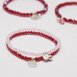 Armband Set Red/Pink