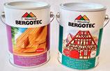 Doppelpack - Bergotec Aqua-Holzschutz-Grund plus Bergotec Acryl-Deckfarbe