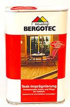 Bergotec Teak-Imprägnierung ( pigmentiertes Teak-Öl )