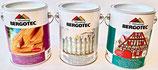 Dreier-Pack Bergotec Aqua-Holzschutz-Grund - Bergotec Aqua-Isoliergrund - Bergotec Acryl-Deckfarbe