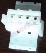 3801-00176 Connector A 1318 / white,  ref: HS53-6600-081, AMP 927365-1
