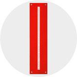 ZEIT:FREUND Filz rubinrot