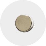 Magnete für Filz-Uhr