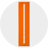 ZEIT:FREUND Filz orange