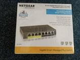 Netgear GS108PE-300EUS 8-Port Gigabit PoE Switch – Neu