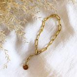 Gold Christmas Chain Bracelet