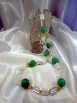 Bergkristall & Jade