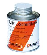 DUROL Schriftfarbe für Natur- und Kunststeine 100 ml weiß oder lichtgrau
