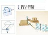 Einfasser Universal für Industrienähmaschine breite Schrägband N223