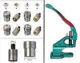 Auswahl Druckknopf Presse , Werkzeug PN für Druckknöpfe ( Ring-Feder )