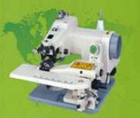 Blindstich  Nähmaschine  Intervall 1:1 / 1:2 .  ZJ-500