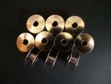 20 Spulen 21 x 9 mm für Industrienähmaschine Voll Metall. 40264