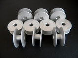 20 Spulen, groß, Aluminium für Industrienähmaschinen