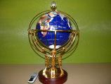 Edelstein Globus mit Licht und FB ! 50 cm GS50