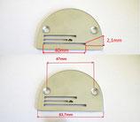 Standart Stichplatte für Nähmaschine 0302