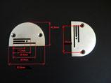 Standart  Stichplatte für Industrienähmaschine mod. 8700, 8810