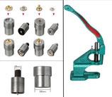 Auswahl Druckknopf Presse , Werkzeug PN  für Druckknöpfe ( S-Feder )