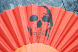 Skull Fächer orange Nr. 3
