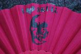 Skull Fächer pink Nr. 5