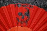 Skull Fächer orange Nr. 13