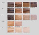 Wählen Sie die Holzsorte