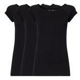 Cap Sleeve black 3er Pack
