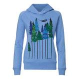 Wood Hoody heather blue