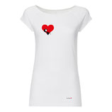 Valentine Cap Sleeve white