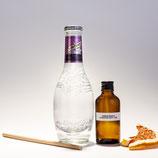 Tanqueray London dry gin & Orange blossom & lavender tonic