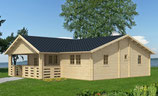 Casa il legno modello Marzia