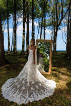 Spiegel aus Eichenholz