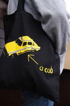 """Baumwollbeutel """"a cab"""""""