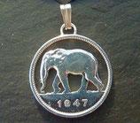 2 Franc Kongo 'Elefant'
