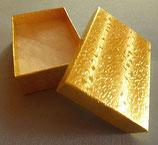 Geschenk - Karton Gold