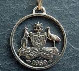 Wappen Australien Six Pence