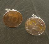 Manschettenknöpfe 10 Pfennig