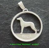 Six Pence 'Wolfs-Hund'