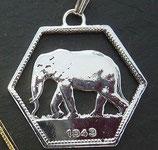 'Elefant' Kongo 6-eckig