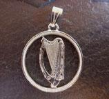 Shilling Irland 'Harfe'