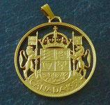 Wappen von Kanada golden
